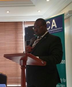 Adetunji Oyebanji (ICA President/Chairman of the Council & Chairman/MD, Mobil Oil Nig Plc)