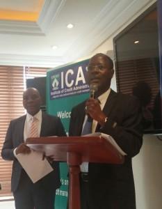 Prof. Chris Onalo, Registrar/CEO ICA