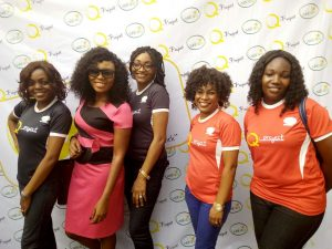 Q-Project Team with Blessing Idahosa of TVC