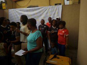 Mrs. Durojaiye, Director of the Shelter
